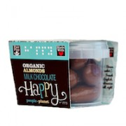 Organic Almonds Milk Chocolate 70gr tub