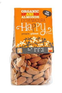 Organic Spanish Almonds - Extremadura 100gr bag