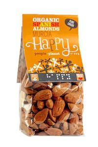 Organic Spanish Almonds - Murcia 100gr bag