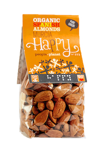 Organic Spanish Almonds - Murcia 100gr bag
