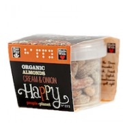 Organic Almonds Cream & Onion 60gr tub