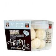 Organic Almonds White Choc & Coconut 70gr tub