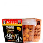 Organic Cashews & Peanuts Hot Chilli 60gr tub