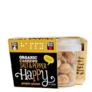 Organic Cashews Salt & Pepper 60gr tub
