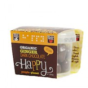 Organic Ginger Dark Chocolate 70gr tub