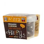Organic Almonds Dark Chocolate 70gr tub