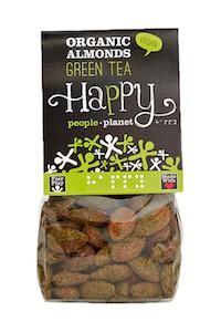 Organic Almonds Green Tea 100gr bag