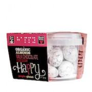 Organic Almonds Milk Choc & Icing Sugar 70gr tub