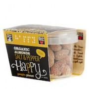 Organic Almonds Salt & Pepper 60gr tub