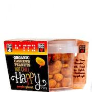 Organic Cashews & Peanuts Hot Chilli 60gr tub