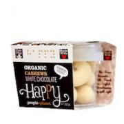Organic Cashews White Chocolate 70gr tub