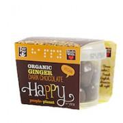 Organic Ginger Dark Chocolate 70gr tub
