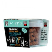 Organic Pecans Milk Choc & Cocoa powder 60gr tub