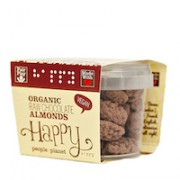 Organic Raw Chocolate Almonds 50gr tub