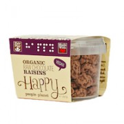 Organic Raw Chocolate Raisins 50gr tub