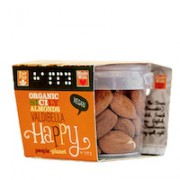 Organic Sicily Almonds – Valdibella 60gr tub